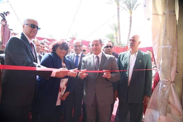 افتتاح معرض الاسكندرية للكتاب 1
