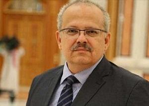 رئيس جامعة القاهرة بالمعرض الأن 1