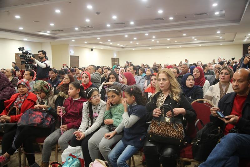 تكريم الفنانة ليلى علوى فى معرض القاهرة الدولى للكتاب بيوبيله الذهبى 2
